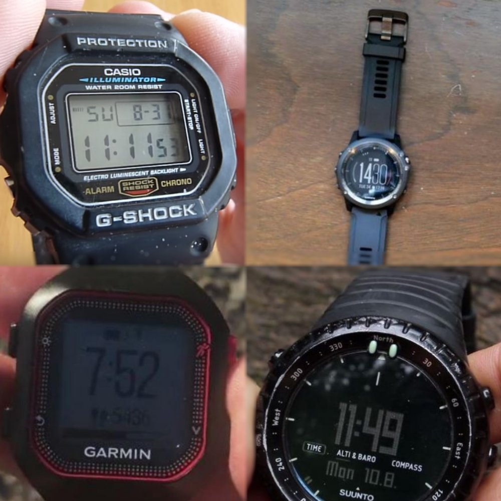 Looking For The Best Backpacking Watch To Buy Getaway Chief